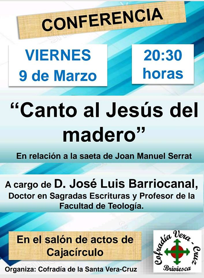 cartel conferencia josé luis barriocanal